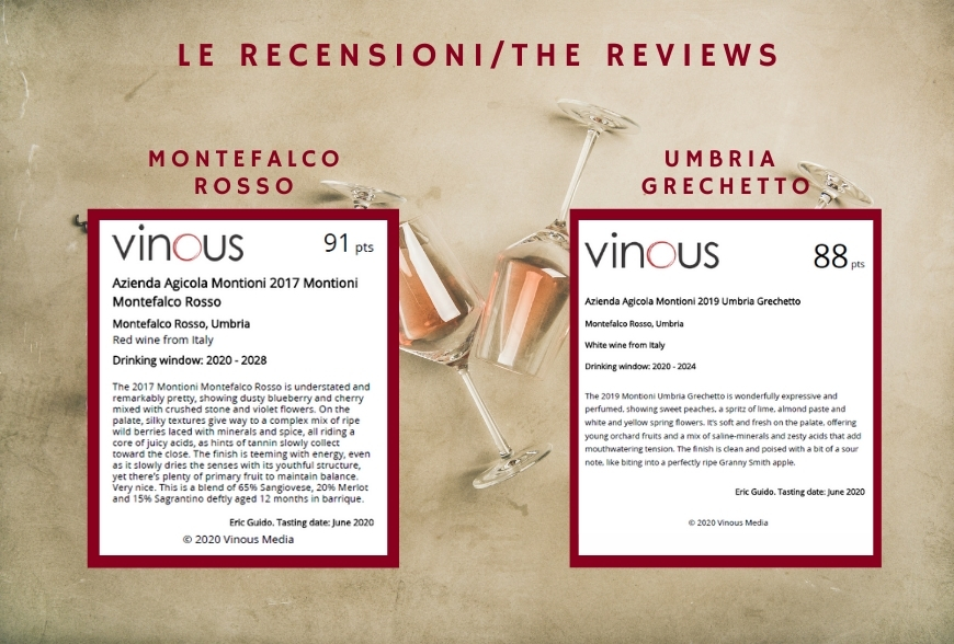 reviews vinous for Montioni