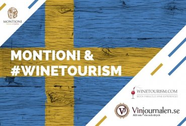 Montioni was featured in a wine magazine in Sweden