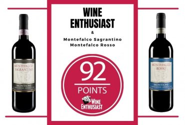 Excellent ratings for our Montioni Montefalco Sagrantino and Montefalco Rosso!