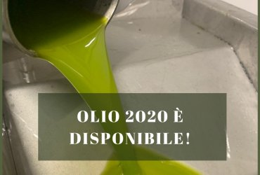 New 2020 olive oil is available!