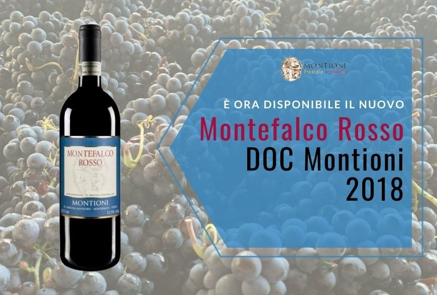 Our Montefalco Rosso 2018 is now available!